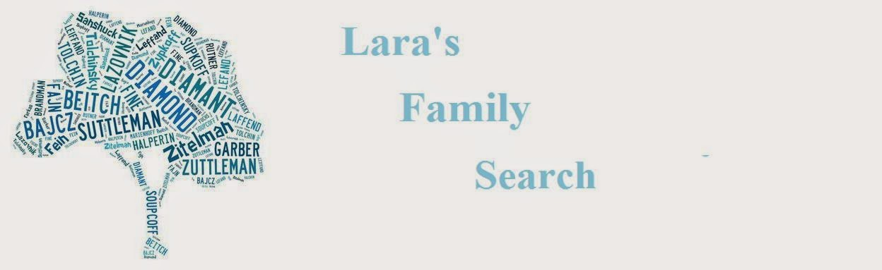 Lara's Family Search
