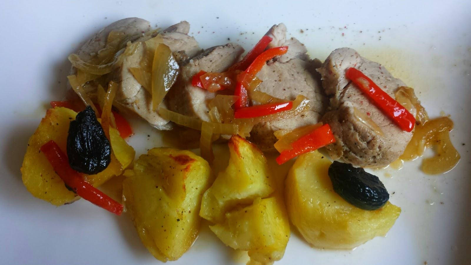 Cocinando con las bollis solomillo de cerdo al horno con - Solomillo de ternera al horno con mostaza ...