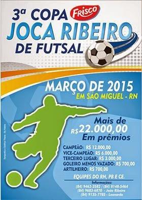 3ª Copa Regional Frisco Joca Ribeiro de Futsal