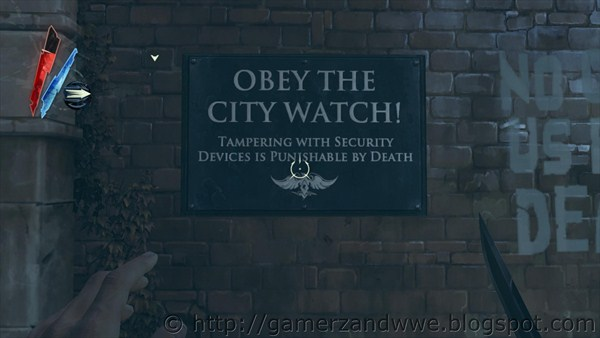 Obey The City Watch Signboard