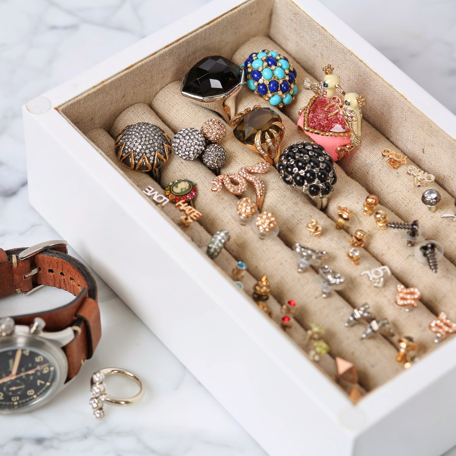Jewelry Storage Tips Arm Candy Collection Storage And Display Bracelets Stud  Earrings