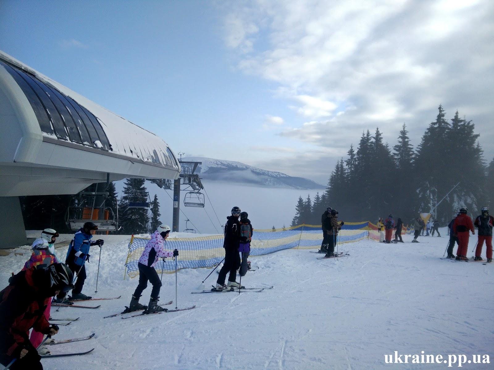 Буковель - горнолыжный курорт