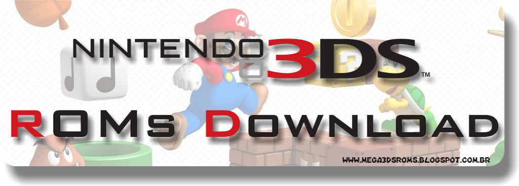 MEGA 3DS ROMs - Games, Themes, DLCs, Updates and more!