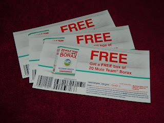 Win, Free, Coupon, sweepstakes, giveaway, borax, laundry booster