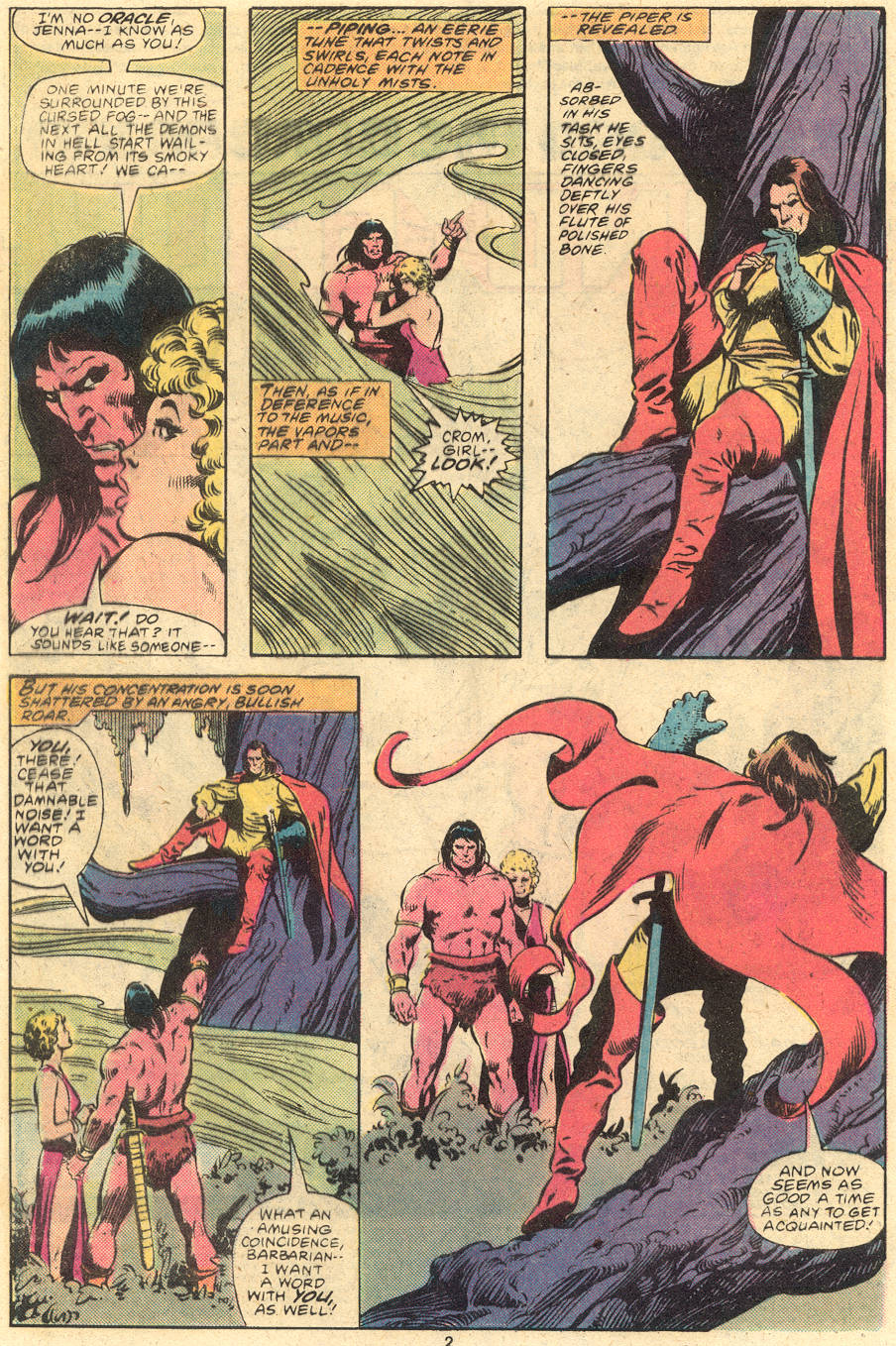 Conan the Barbarian (1970) Issue #120 #132 - English 3