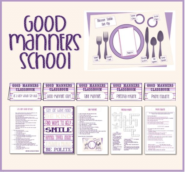 Good Manners School - Serving Others