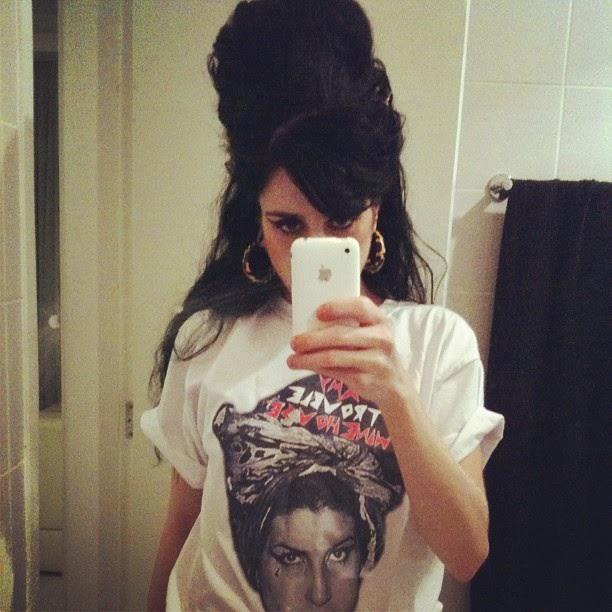 Sósia Amy Winehouse - Carina Brandão