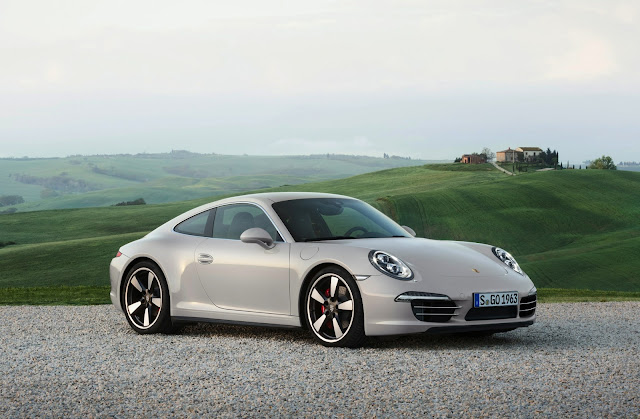 Porsche 911 50th Anniversary Edition: Porsche Introduces their 911 Birthday Car