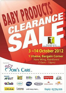 Baby Products Clearance Sale 2012