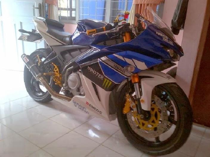 Yamaha Vixion 2012 Model Moge Sport title=