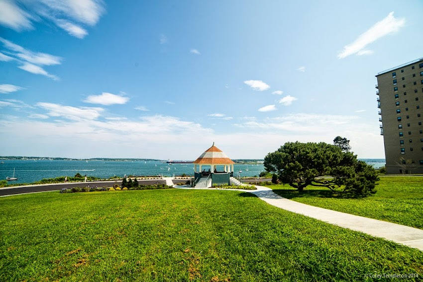 Friends of the Eastern Promenade Fort Allen Park and Gazebo Summer July 2014 Photo by Corey Templeton