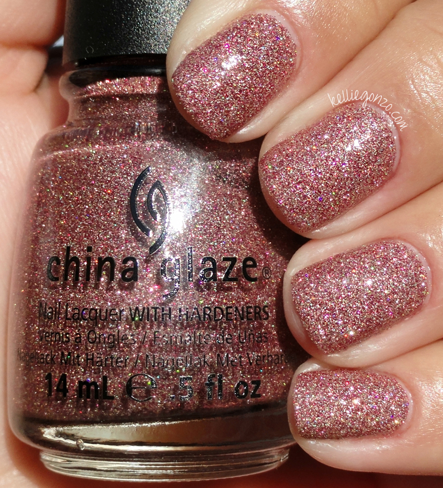 It Is The Same Formula As Two Glitters In China Glaze S On Safari Collection Really Dense But Very Easy To Ly This Coats