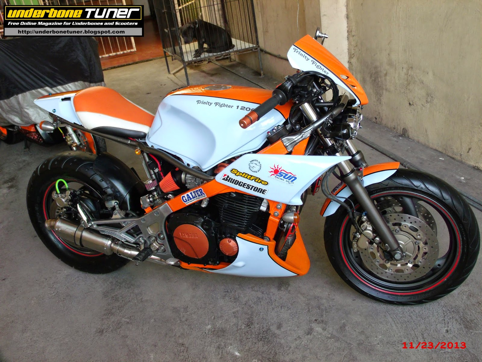 Underbone Tuner The Yamaha Fj1200 Street Fighter By