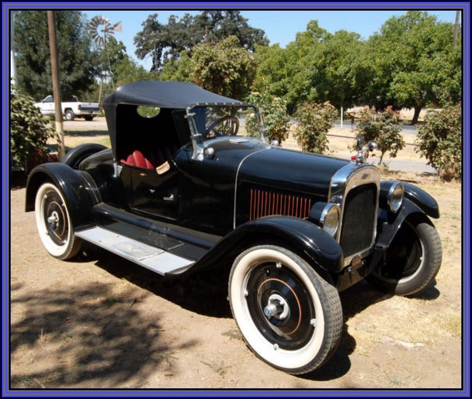Very rare 1923 chevrolet superior mercury body sportabout