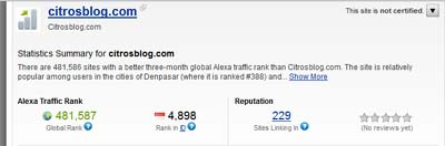 citrosblog-alexa-stats