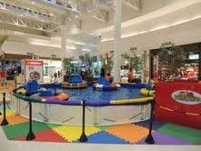 Bate-boias é a nova atração do Shopping Grande Rio