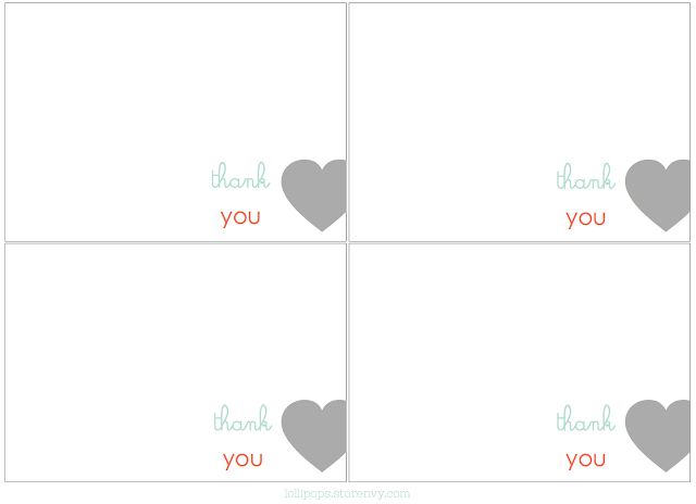 printable thank you coach cards free | just b.CAUSE