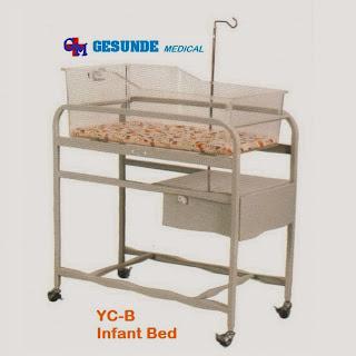Tempat Tidur Bayi Rumah Sakit
