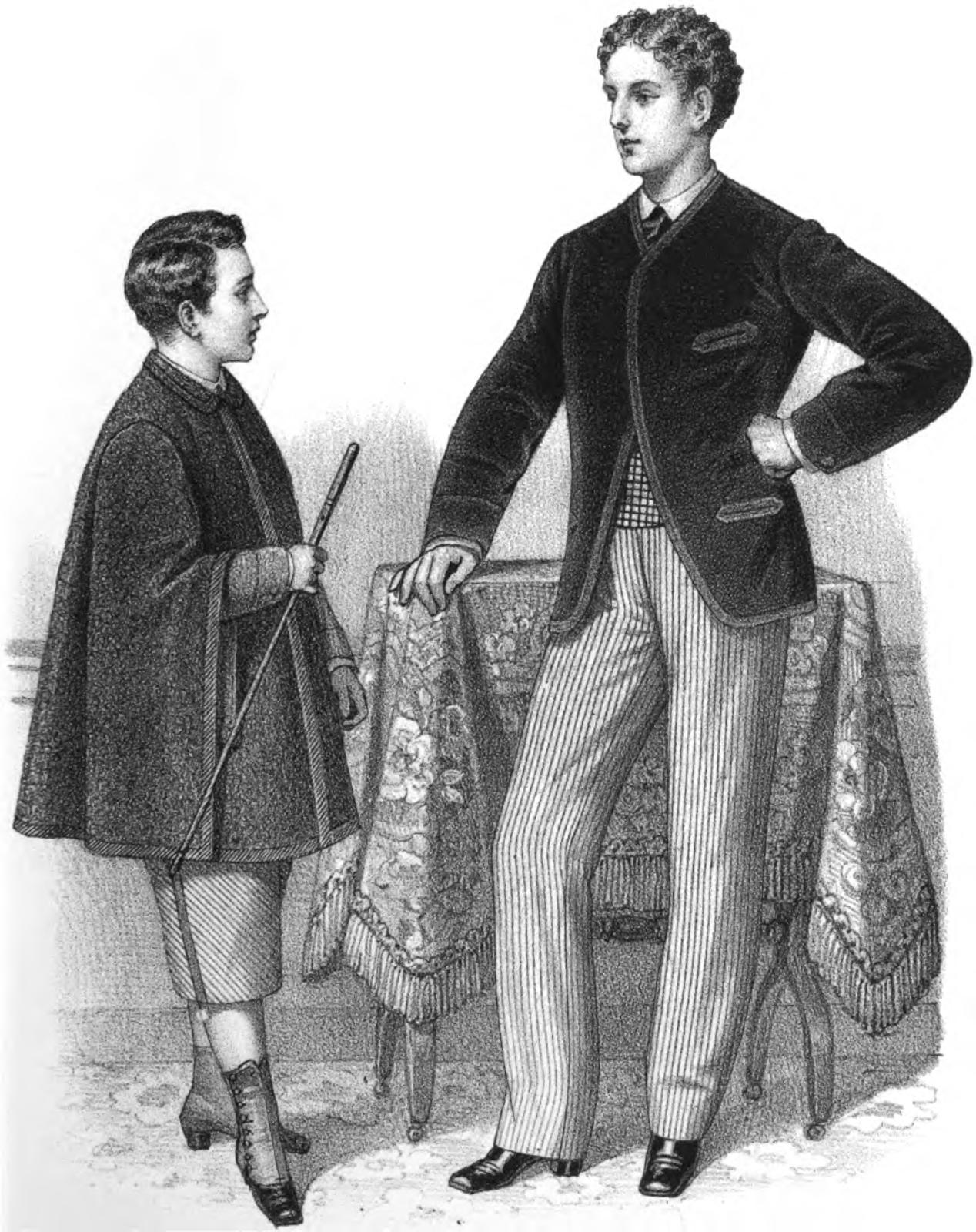 19th Century Historical Tidbits 1872 Historical Fashions