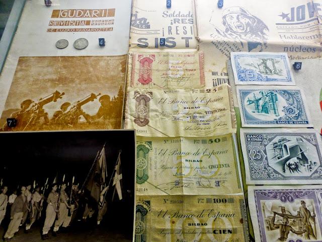 Papel Moneda emitido durante la guerra