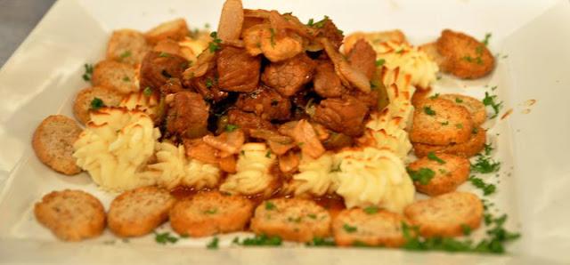 Beef Salpicado Y Picante Recipe