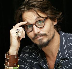 Johhny Depp Oval Face Shape tortoise shell Eyeglasses