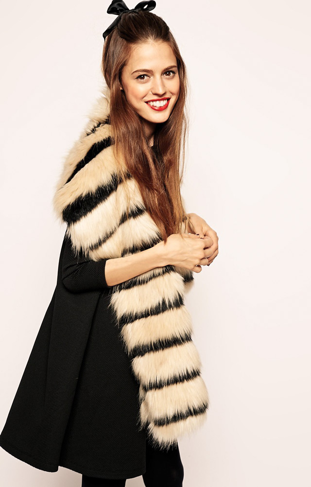 faux fur collars, chic daily outfits,