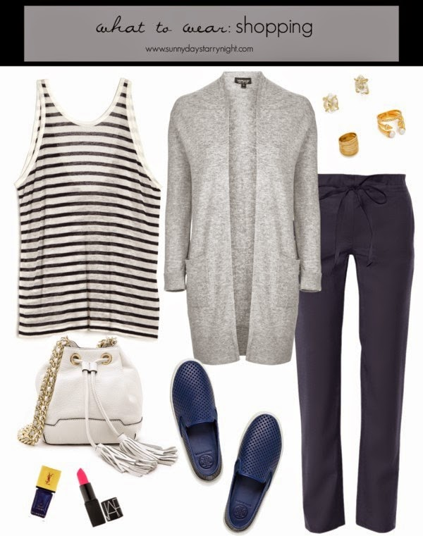 what to wear on a long day shopping
