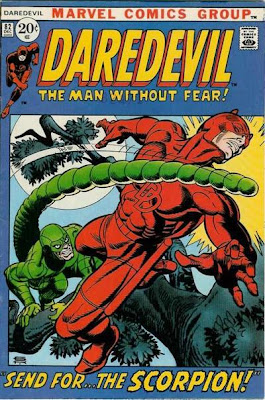 Daredevil #82, the Scorpion, Gil Kane cover