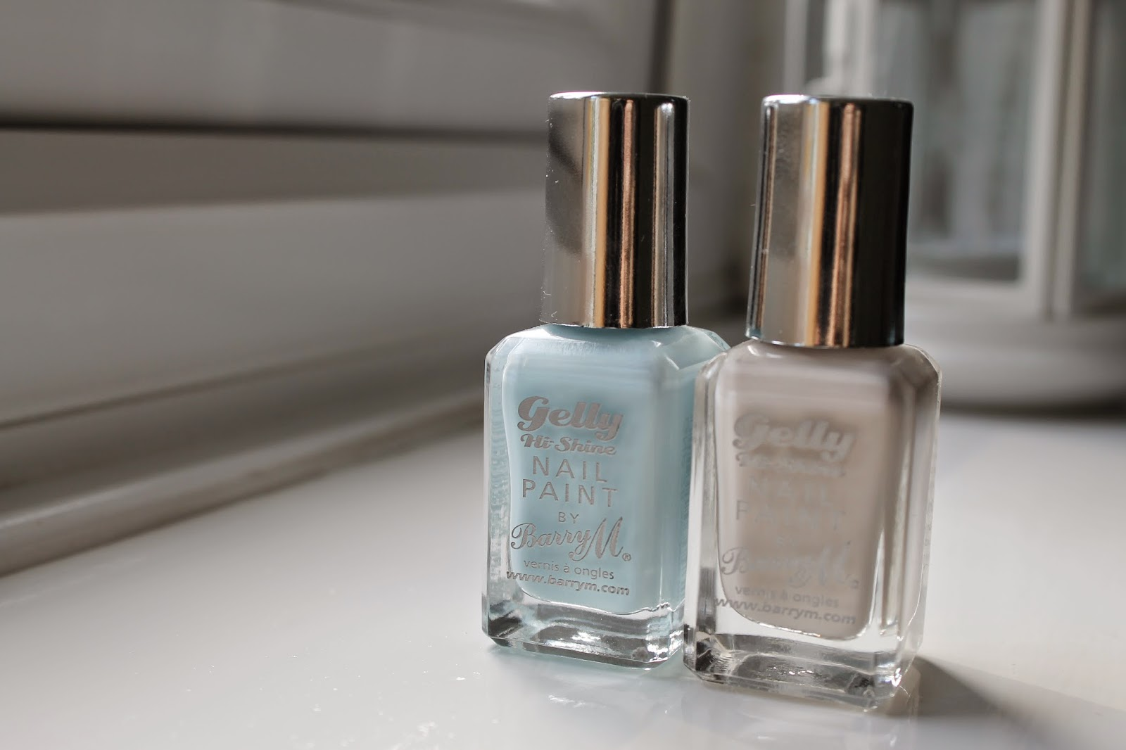 Barry M Gelly Hi-Shine Coconut and Huckleberry