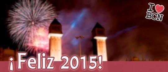 Fin de año 2014 Barcelona