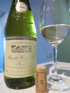 Domaine la Haute Févrie Sur Lie Muscadet Sèvre & Maine 2014 from AC, Loire, France (88+ pts)