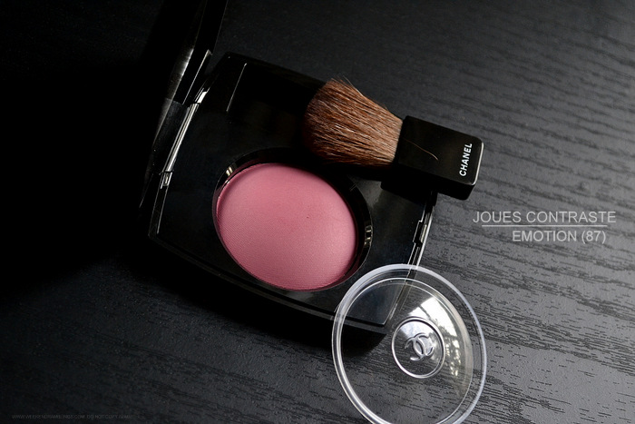 Chanel Emotion 87 - Joues Contraste Powder Blush - Swatches Photos Review FOTD