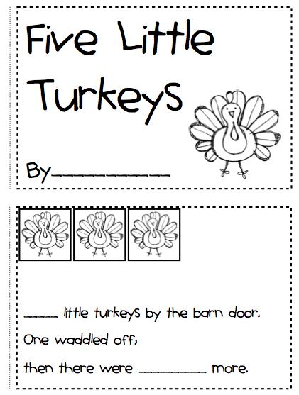 Thanksgiving Worksheets For Kindergarten : Kindergarten fever thanksgiving printables