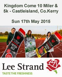 10 mile & 5km race in Castleisland, Kerry...Sun 17th May