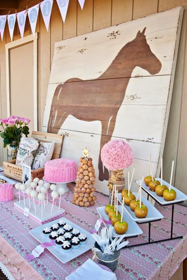 Horses Toys For Girls Birthdays : Ideias para festa com tema cavalos dicas pra mamãe