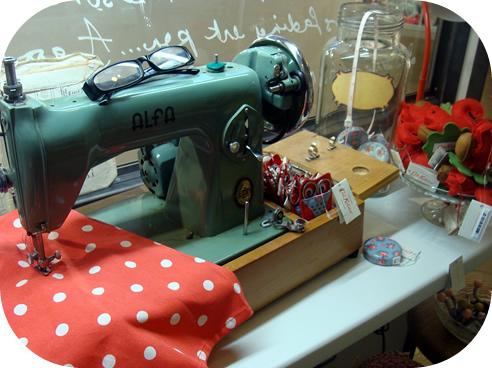 Cath Kidston sewing shop Marylebone