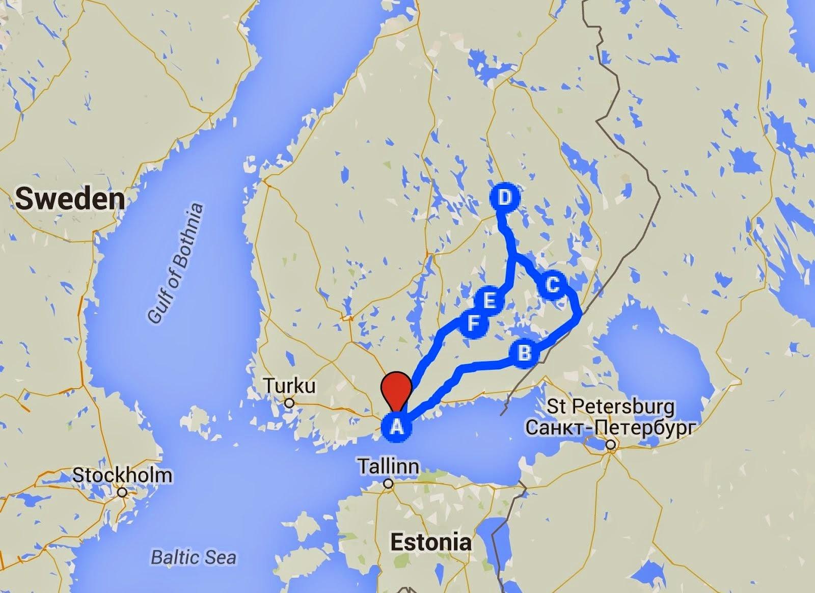 Our Trip to Kuopio 13-15 Feb 2015