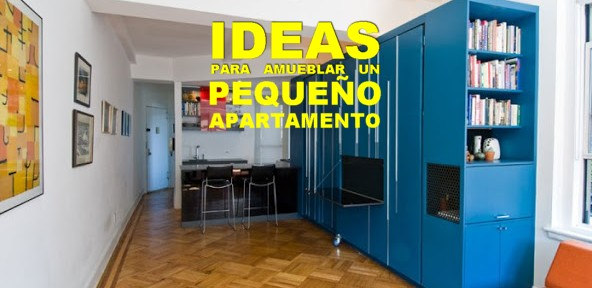 Ideas para un apartamento peque o muebles como imaginas for Ideas para un departamento pequeno