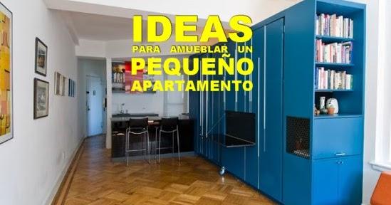 Ideas para amueblar un peque o apartamento mobles - Ideas para decorar un apartamento pequeno ...