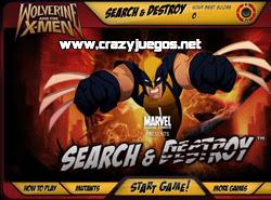Jugar Wolverine - www.crazyjuegos.net