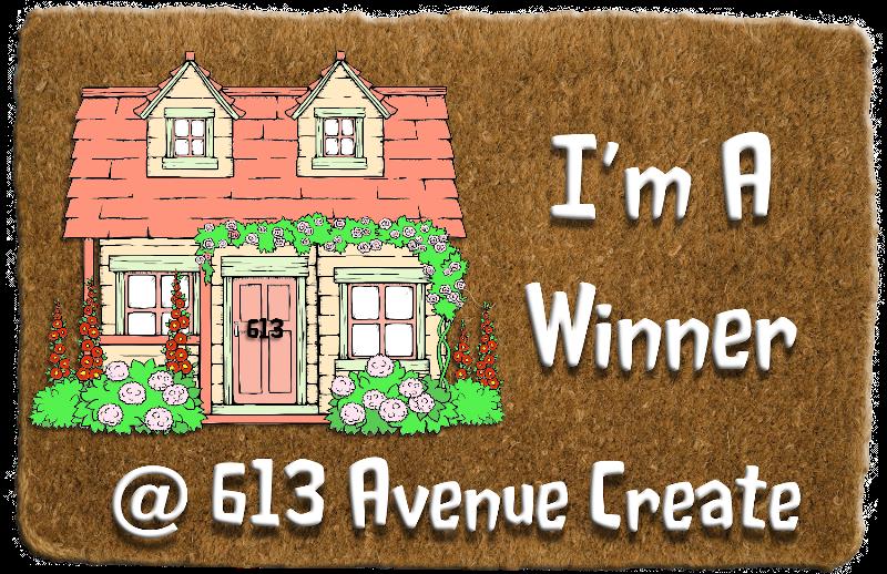 Winner at 613 Avenue Create Challenge Blog