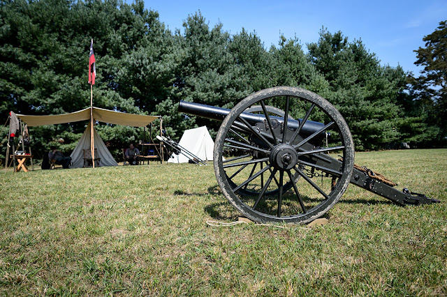 Civil War Encampment at White Post