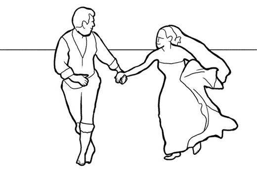 эмоциональное свадебное фото