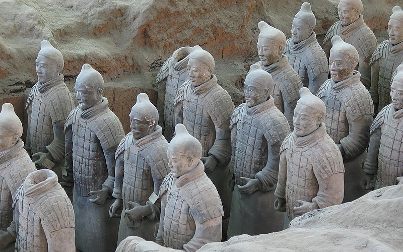 Western Han Dynasty Terracotta Warriors