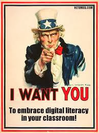 Uncle Sam want's you to embrace digital literacy