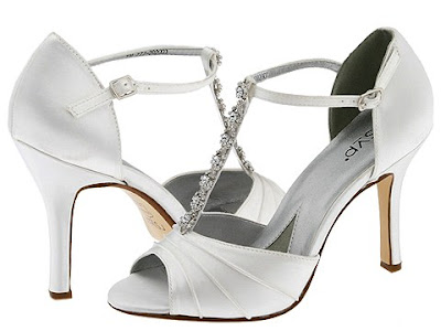 Women white wedding shoes 2