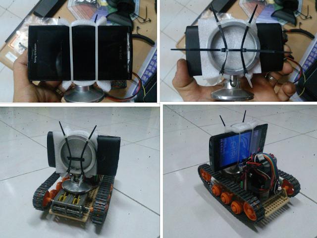 Arduino Thermometer: Arduino Bluetooth Panzer