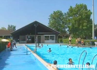 piscine extérieure Bruxelles Grimbergen