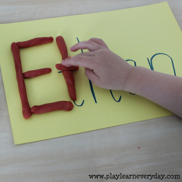 Name Writing - Play and Learn Every Day